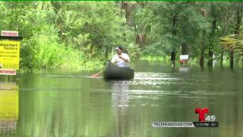 Comunidades bajo el agua por las lluvias