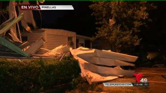 Confirman impacto de tornado en Pinellas