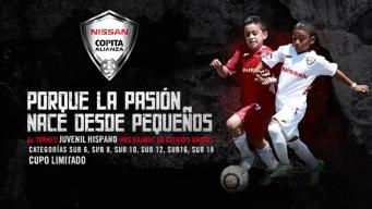 Nissan Copita Alianza espera la participación de más de 14 mil jugadores
