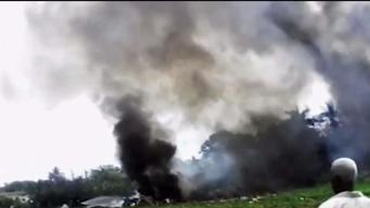 Cuba dice que es prematuro hablar de las causas accidente aéreo