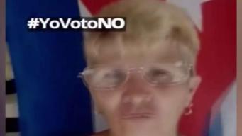 """Cubanos inician campaña """"Yo voto NO"""""""