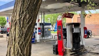 Muere mujer en incendio en gasolinera en el noreste de DC