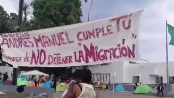 Desespero de cientos de cubanos varados en Tapachula