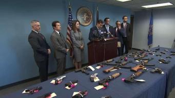 Desmantelan red de tráfico de armas en Long Island