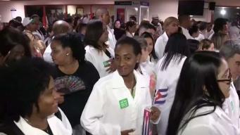 Díaz-Canel reconoce que cientos de médicos cubanos se quedaron en Brasil