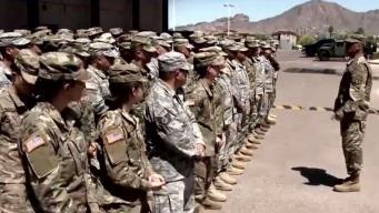Enviarán más soldados a la frontera con México
