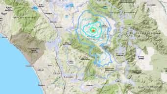 Terremoto y réplica sacudieron zona al sur de California