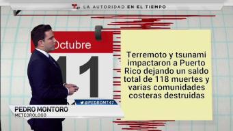 El día en que un terremoto y un tsunami impactaron a Puerto Rico