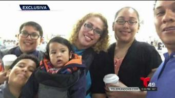 Exclusiva: Familia es separada por problemas migratorios
