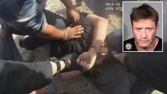 En video: policía batalla para arrestar exluchador de UFC
