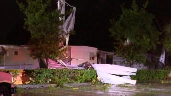 Florida: tormenta Néstor provoca fuertes vientos y tornados