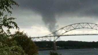 Confirman tornados en Massachusetts y Rhode Island