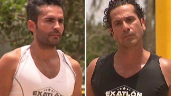 """Fabián Ríos y Gregorio Pernía compiten en """"Exatlón"""""""