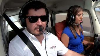 Con viajes aéreos gratuitos fomentan la aviación en menores