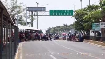 Tensión en Chiapas por la caravana de migrantes
