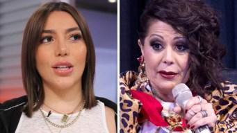 Alejandra Guzmán dice que su hija tiene una enfermedad mental y hasta le pegó