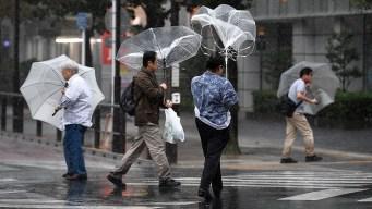 Lluvia torrencial, frío y viento tras días soleados