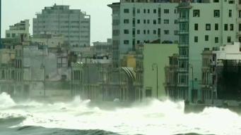 Gran inundación en las zonas bajas de La Habana