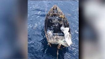 Guardia Costera intercepta bote con 6 cubanos