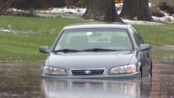 Lluvias causan estragos en Connecticut