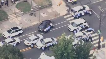 Horas de enfrentamiento y tensión en Filadelfia
