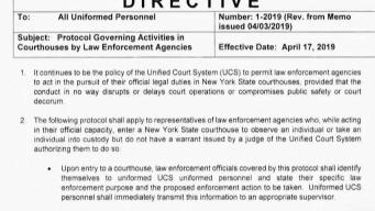 ICE ya no podrá hacer arresto en las cortes de NYC