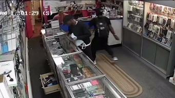 Impactante robo a tienda en Jamaica Plain
