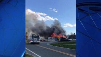 Incendio en restaurante en el condado Charles