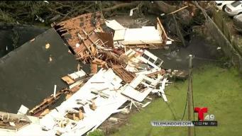 Inician labores de reparación tras tornado en Polk