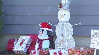 Insólito: Roban decoraciones navideñas de hogar