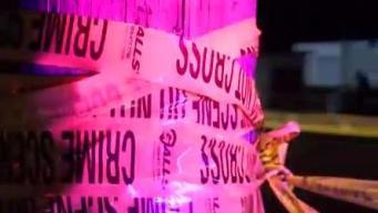 Investigan balacera que dejó a dos personas graves
