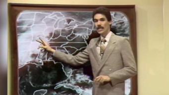 Jorge Ramos como presentador del tiempo