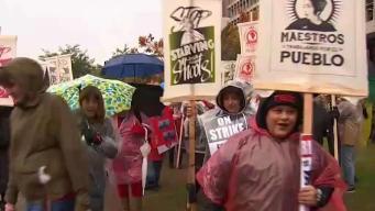 Masiva huelga afecta a medio millón de estudiantes
