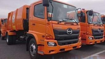 La Habana tiene los primeros camiones de basura japoneses