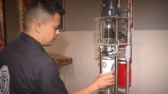 La estación de cerveza: bombero voluntario crea bebida artesanal