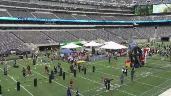 La familia de Telemundo 47 y NBC 4 se apodera del MetLife Stadium