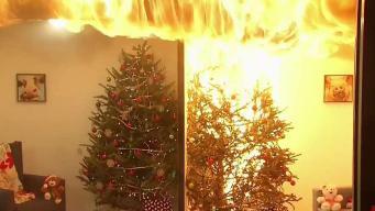 La navidad se puede volver trágica en segundos