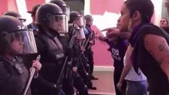 """""""La violencia contra la mujer es inaceptable"""""""