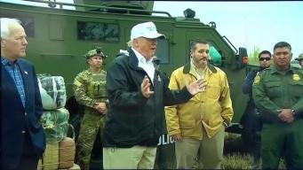 Latinos locales reaccionan ante visita de Trump a frontera