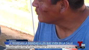 Ofrecen servicio de regaderas en Tijuana