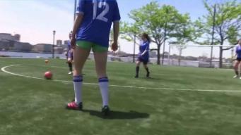 Futbolistas locales sueñan con jugar internacionalmente