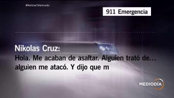 Llamada de Nikolas Cruz al 9-1-1