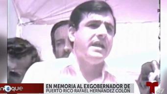 Luto en PR por deceso de exgobernador Rafael Hernández