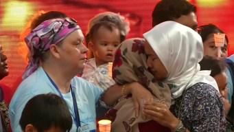 Familiares piden nueva búsqueda de avión malasio