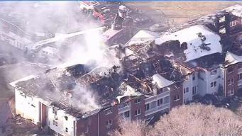 Muere 2da mujer en choque que incendió apartamentos