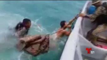 Muere bebé en naufragio de inmigrantes cubanos