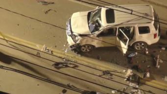 Mujer fallece en aparatoso accidente en Watertown