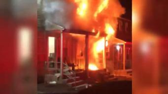 Mujer pierde la vida en voraz incendio en Connecticut
