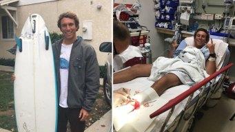 Surfista sobrevive ataque de tiburón en California