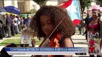 """Niñita llega con su violín para tocarle """"Verde Luz"""" a Keylla"""